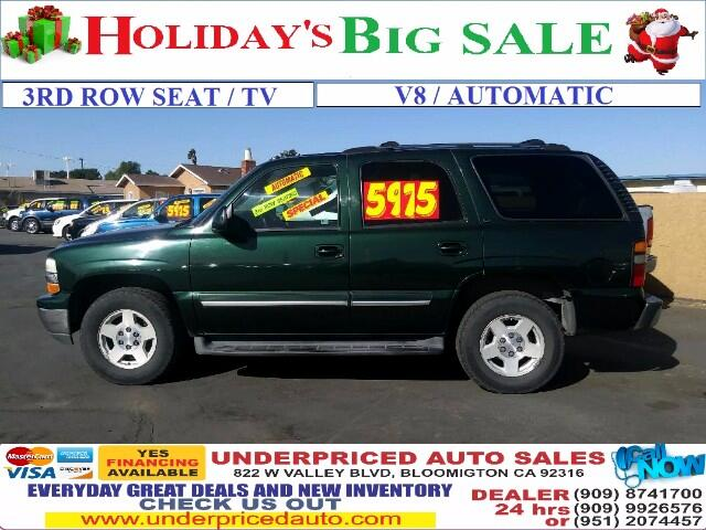 2004 Chevrolet Tahoe LT 3RD ROW SEAT /TV/DVD PLAYER