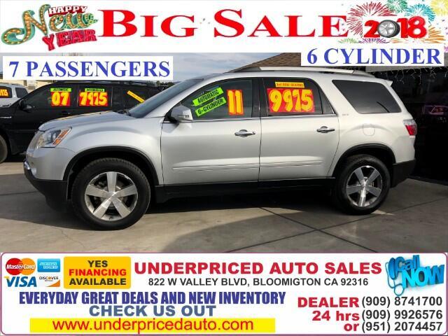 2011 GMC Acadia SLT-1 FWD 3RD ROW SEAT>>>>>