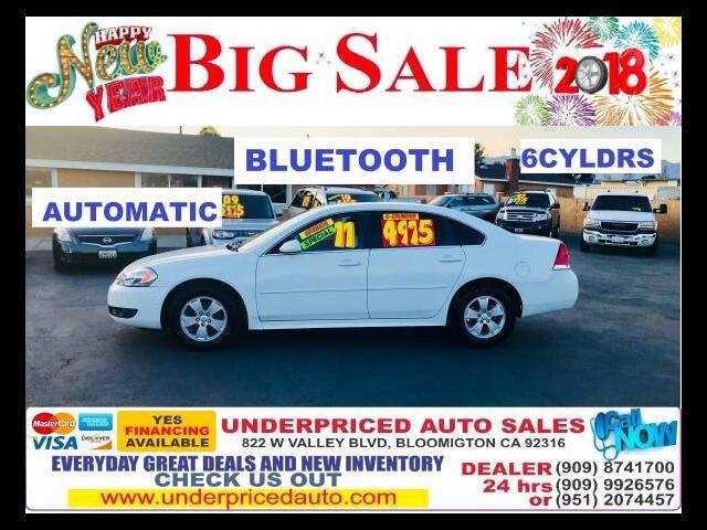 2011 Chevrolet Impala LT 4CYLDS + BLUETOOTH>>>>  MUST DRIVE =====