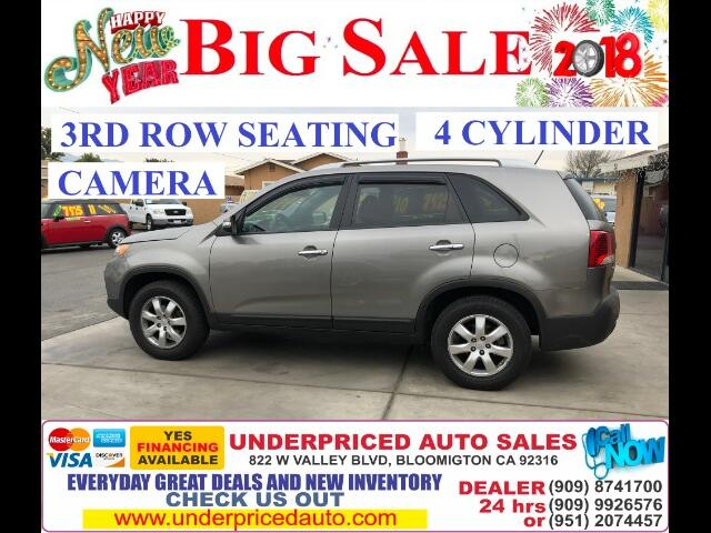 2011 Kia Sorento LX 2WD-3RD ROW SEAT + REAR CAMERA!!!!!!