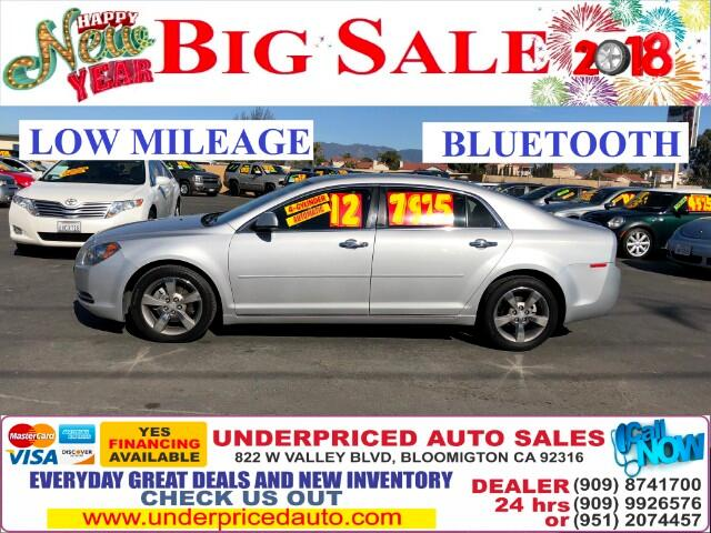 2012 Chevrolet Malibu 2LT WITH BLUETOOTH AND ONLY 4CYL>>>>>