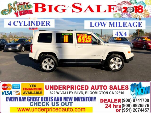 2011 Jeep Patriot 4WD LATITUD EDITION PLUS 4 CYLDS==MUST SEE!!!!