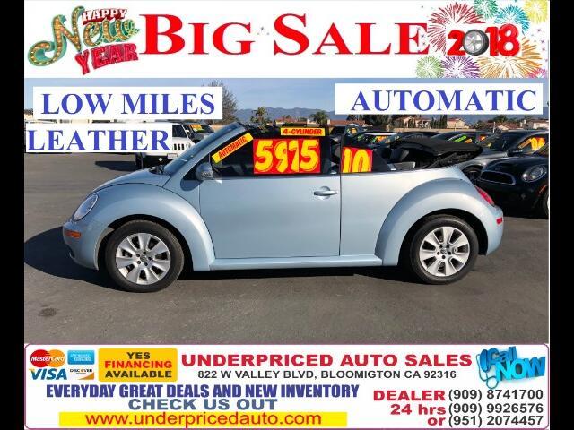 2010 Volkswagen New Beetle 2.5L PZEV Convertible