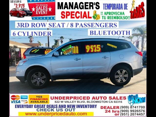 2011 Chevrolet Traverse LT FWD, 3RD ROW SEAT>>>BLUETOOTH !!!!!