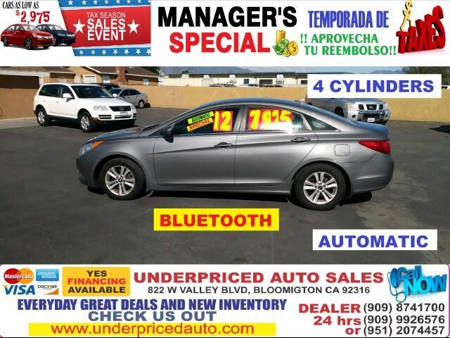 2012 Hyundai Sonata 4 DOORS,GLS EDITION, 4CYLD,MUST DRIVE !!!!!!!