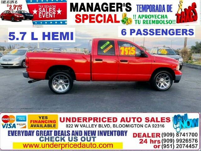 2005 Dodge Ram 1500 CREW CAB, LONG BED, HEMI MAGNUN, COME TO CHECK IT