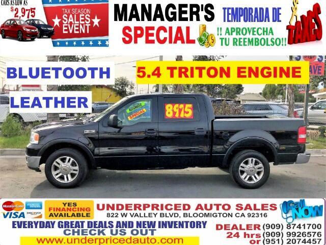 2005 Ford F-150 LARIAT SUPER CREW CAB >>LOW MILES>>>
