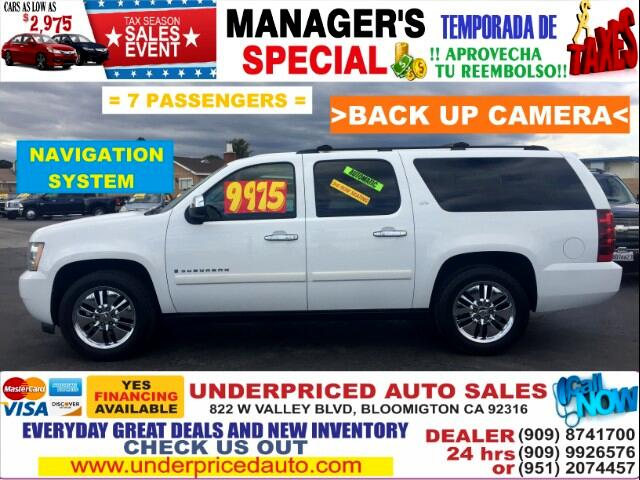 2007 Chevrolet Suburban LTZ 1500 2WD>NAVIGATION,3RD ROW SEAT,FULLY LOADED>
