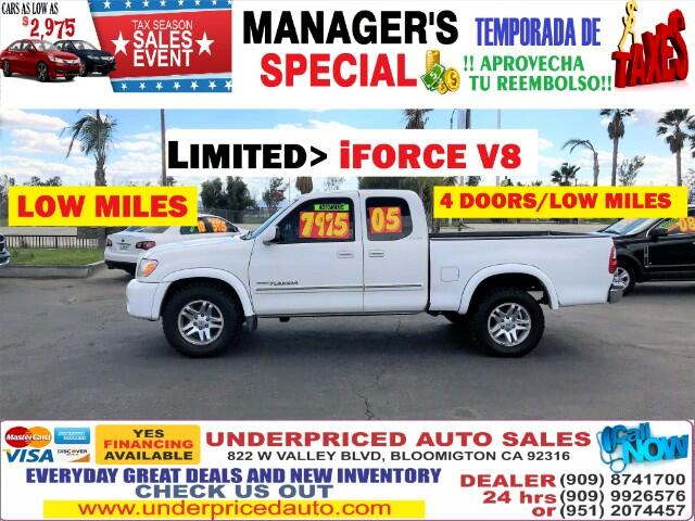 2005 Toyota Tundra LIMITED EDITION>>TOW PACKAGE>LOW MILES!!!!!!