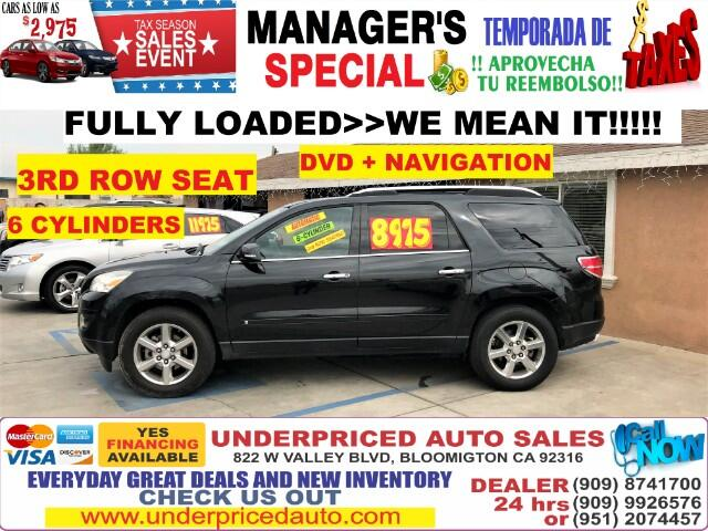2008 Saturn Outlook XR FWD>>>FULLY LOADED WE MEAN IT>>>3RD ROW SEAT!!!