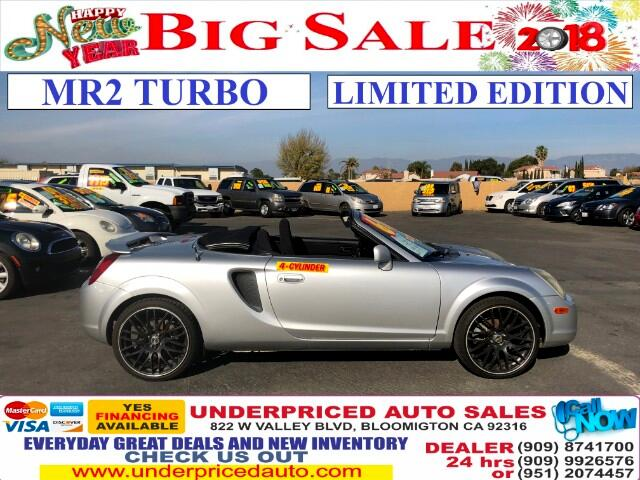 2002 Toyota MR2 Spyder TURBO ENGINE>LIMITED EDITION!!!!