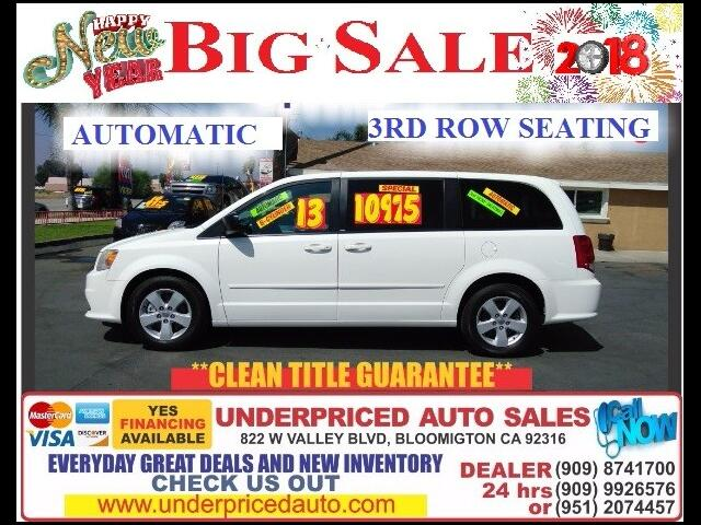 2013 Dodge Grand Caravan SE PLUS 3RD ROW===EXCELLENT FOR THE FAMILY>>>>