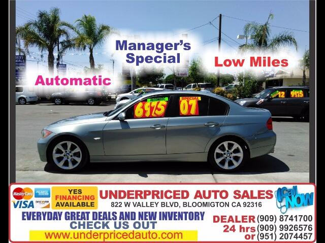 2007 BMW 3-Series 328I 6CYL GAS SAVER