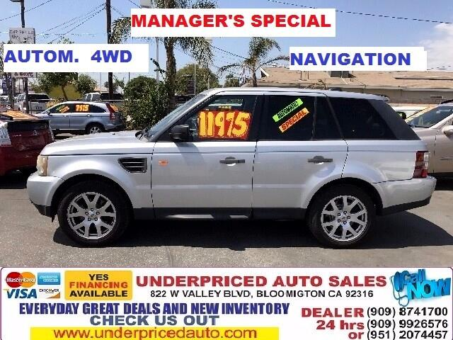 2008 Land Rover Range Rover Sport 4WD 4dr HSE GT Limited Edition