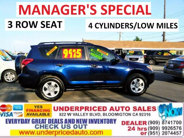 2007 Toyota RAV4 I4 2WD WITH 3RD ROW SEAT