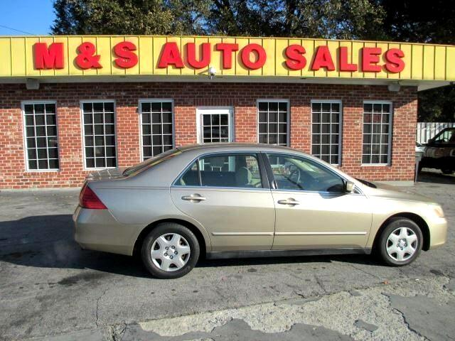 2007 Honda Accord LX sedan AT