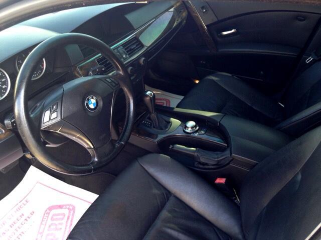 2004 BMW 5-Series 545i 6-speed