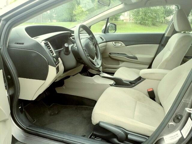 2013 Honda Civic LX Sedan 5-Speed AT