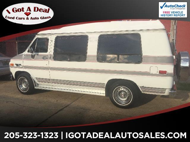 1986 Chevrolet Sport Van G20