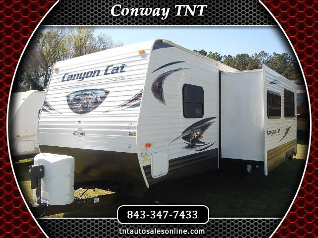 2015 Forest River Forest River Canyon Cat 30DBS