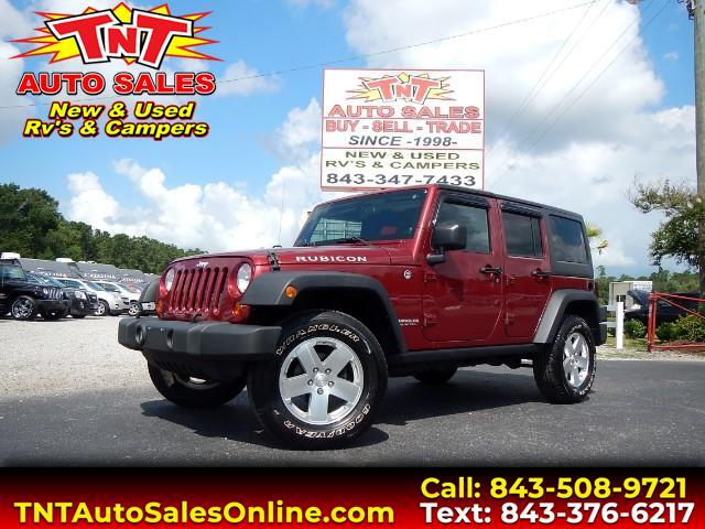 used 2012 jeep wrangler unlimited rubicon 4wd for sale in conway sc 29526 conway tnt. Black Bedroom Furniture Sets. Home Design Ideas