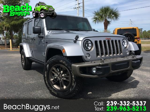2016 Jeep Wrangler 75th Anniversary Edition Unlimited Sahara