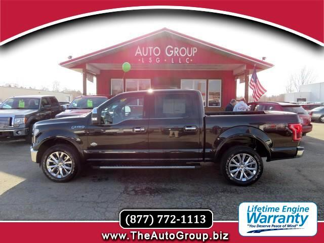 2015 Ford F-150 King Ranch SuperCrew Short Bed 4WD