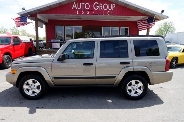 2006 Jeep Commander Backup Warning Third Row Tow Package Sixty years later the Jeep brand is still