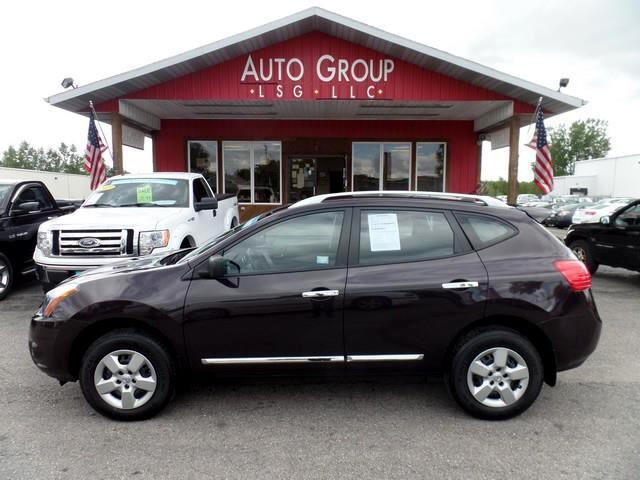 2014 Nissan Rogue Select Your journey can begin with this versatile 2014 Rogue Select S AWD shown h