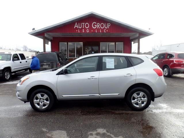 2013 Nissan Rogue Your journey can begin with this versatile 2013 Nissan Rogue S AWD shown in Brill