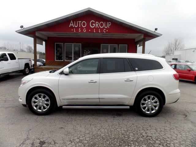 2014 Buick Enclave Our fantastic 2014 Buick Enclave Premium AWD in White Diamond Tricoat blends lux