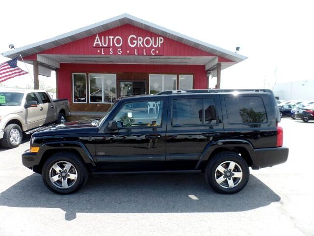 2008 Jeep Commander Take a peek at our 2008 Commander Sport This machine IS commanding Easy to re