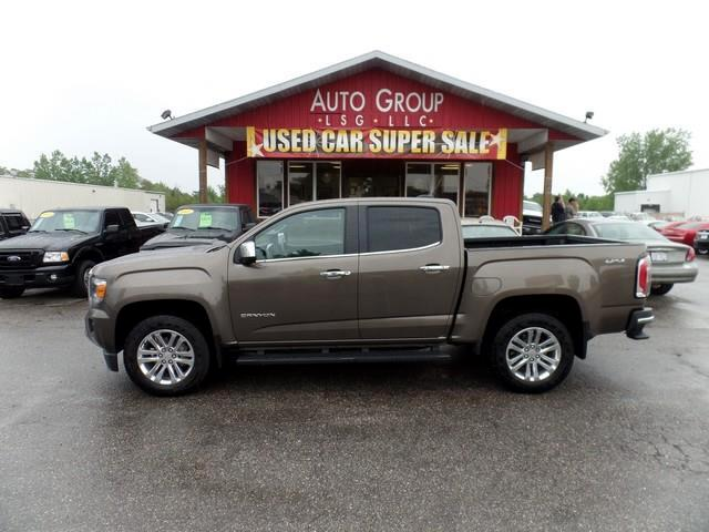 2015 GMC Canyon As refined as a luxury sedan with uncompromising capability and modern innovation o