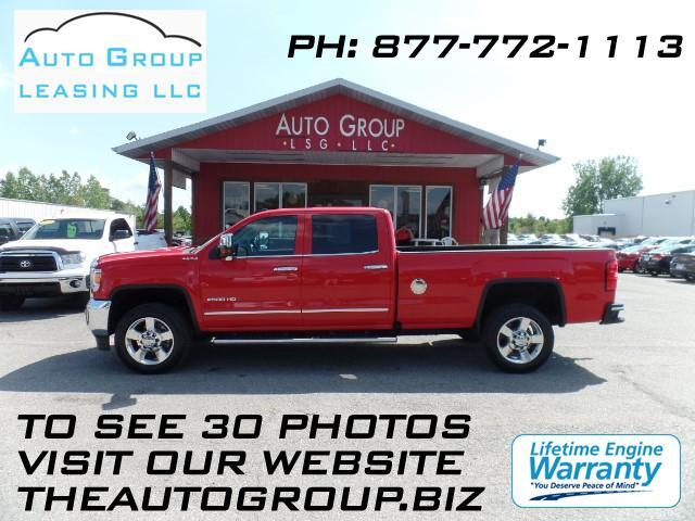 2016 GMC Sierra 2500HD Redesigned for 2016 our GMC Sierra 2500 SLT Crew Cab 4WD displayed in handso