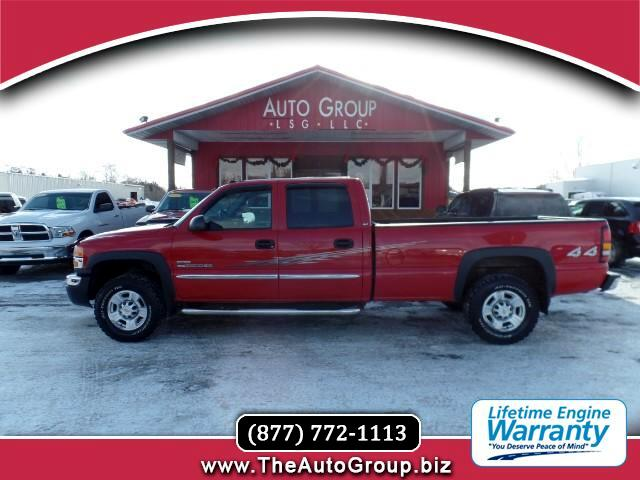 2005 GMC Sierra 2500HD Our 2005 GMC Sierra 2500HD SLT Crew Cab 4x4 workhorse is willing to take to