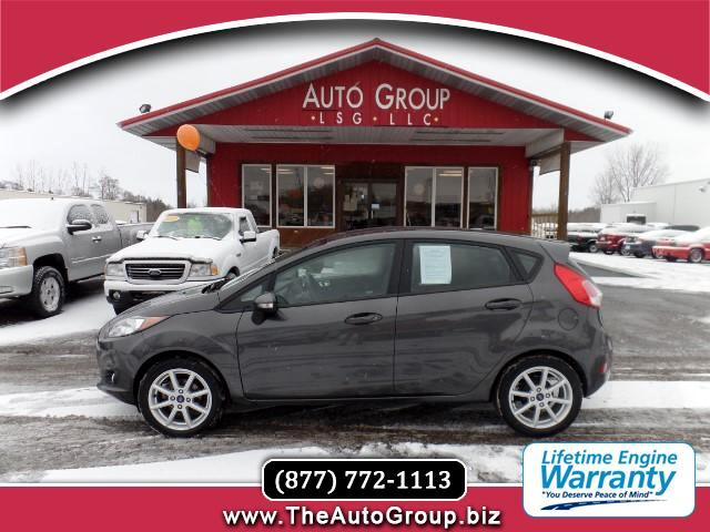 2015 Ford Fiesta Our 2015 Ford Fiesta SE Hatchback is ready for work or play in dazzling Magnetic