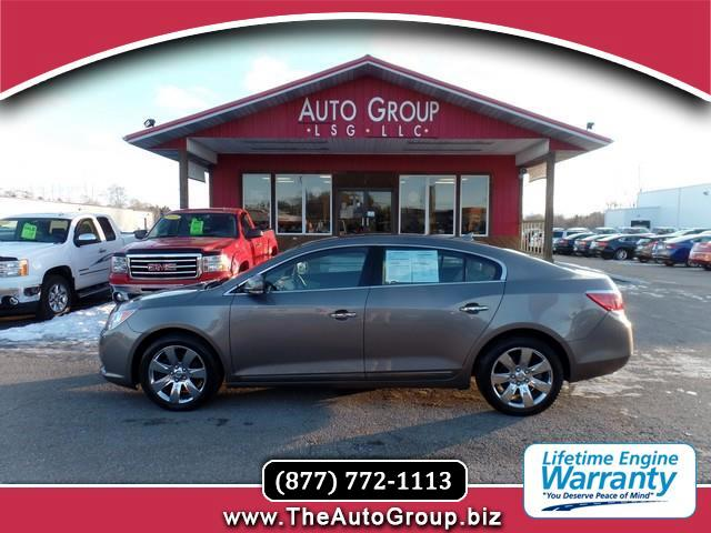2010 Buick LaCrosse WOW this LaCrosse is the upper end of the mid size class The interior is quite