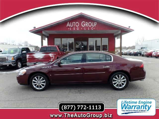 2007 Buick Lucerne The clean lines of this flagship sedan from Buick draw from a rich design herita