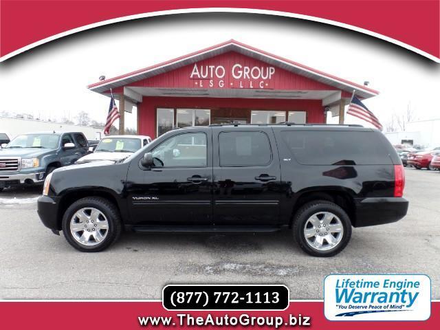 2010 GMC Yukon XL Our black 2010 GMC Yukon XL is a maximum-size SUV for maximum-size projects trai