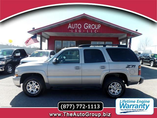 2005 Chevrolet Tahoe Our 2005 Chevrolet Tahoe Z71 is hot This four-wheel drive Tahoe comes well eq