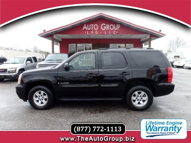 2007 GMC Yukon Our 2007 GMC Yukon SLE is sized right for large families Its cabin is roomy it can