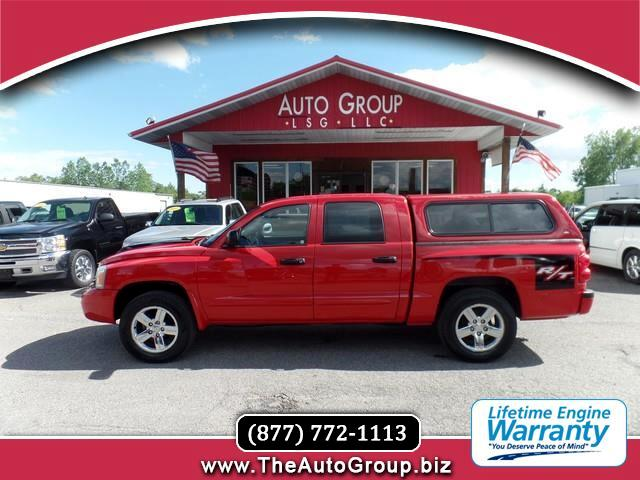 2007 Dodge Dakota Our 2007 Dakota Quad Cab is a mid-size pickup that drives like a car yet tows lik
