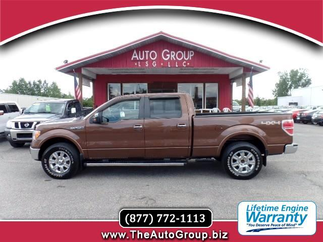 2012 Ford F-150 Lariat SuperCab 4WD