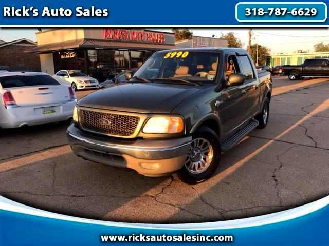 2002 Ford F-150 King Ranch SuperCrew 2WD