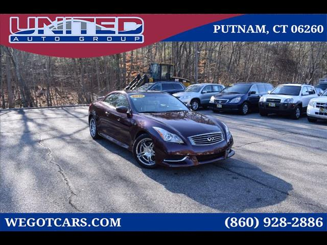 2010 Infiniti G Convertible 2dr Base