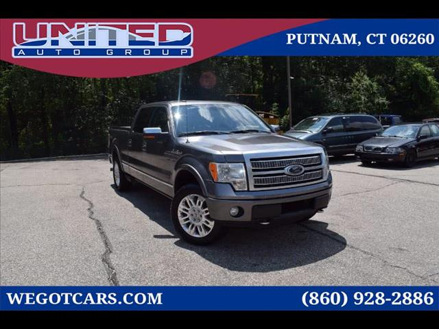 2010 Ford F-150 4WD SuperCrew 145' Platinum