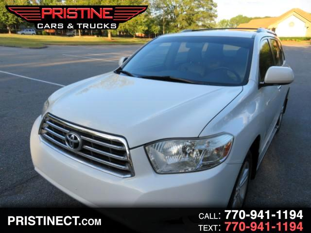 2008 Toyota Highlander V6 4WD LIMITED With Third Row Seat