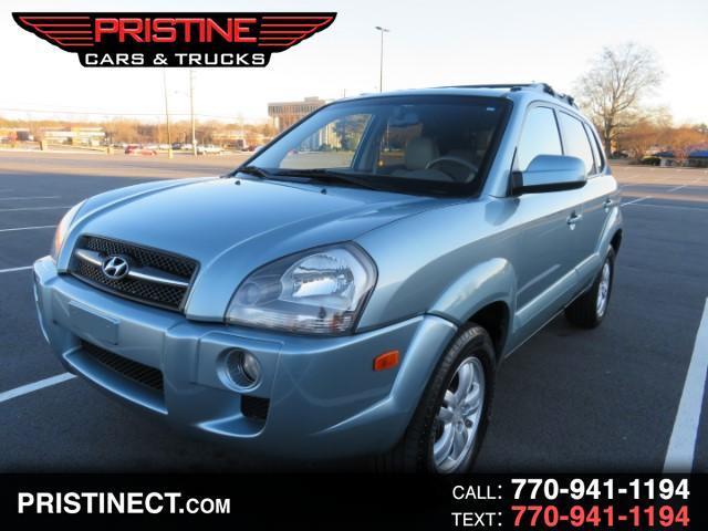 2008 Hyundai Tucson Limited 2.7 2WD