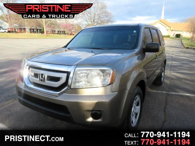 2009 Honda Pilot LX 2WD LEATHER DVD