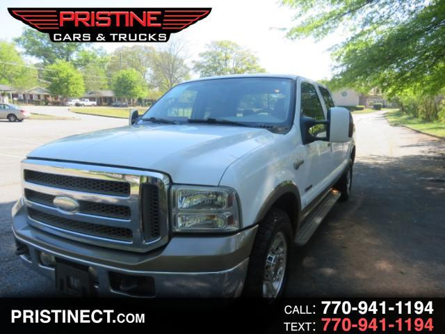 2007 Ford F-250 SD King Ranch Crew Long Bed 4WD
